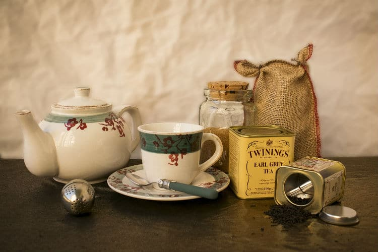 cup of tea english facts