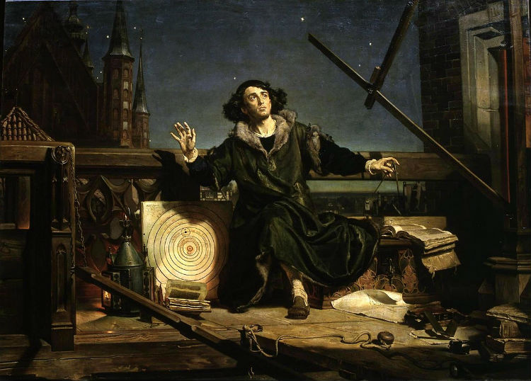 facts about poland - nikolaus copernicus