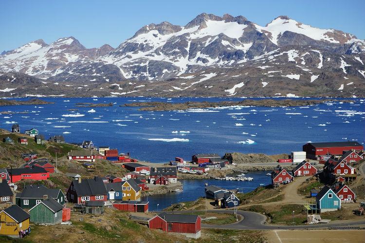 Grönland - danmark fakta