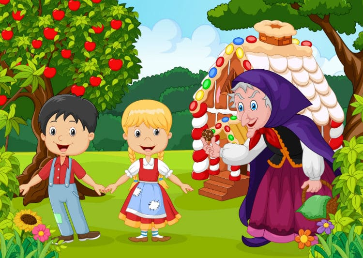 hansel and gretel - germany facts for kids