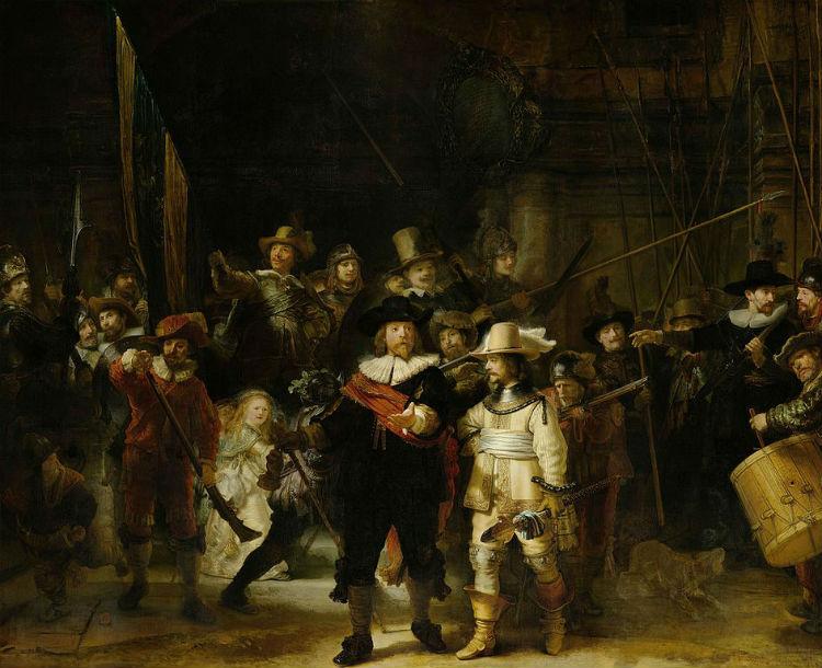 rembrandt - dutch facts