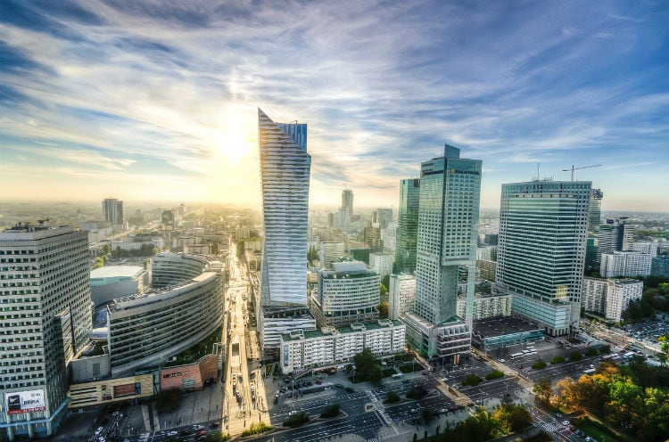 warsaw - capital of poland