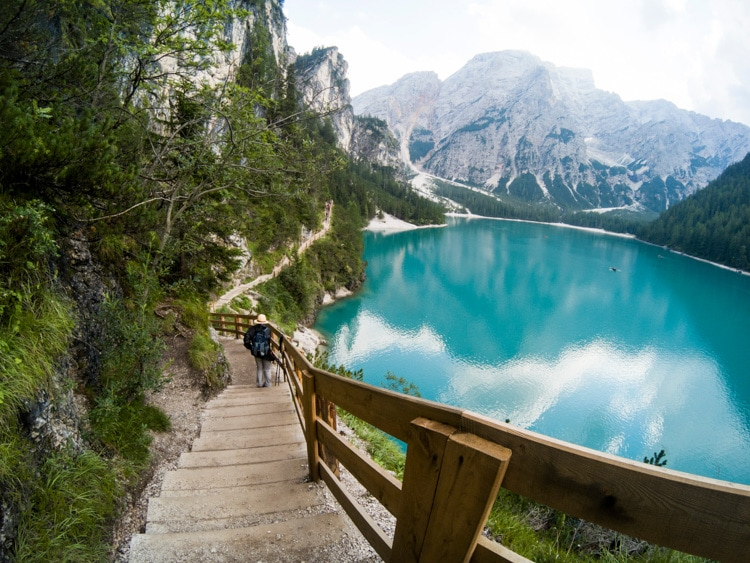 lago di braies how to get there
