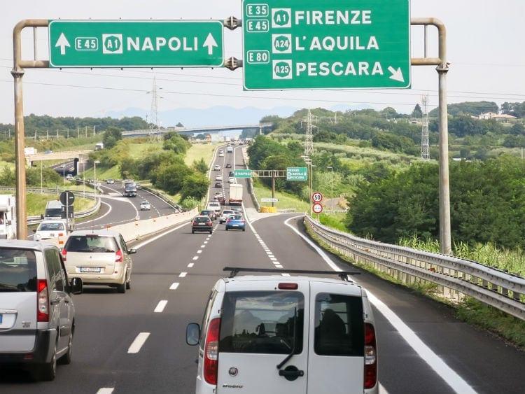 autostrada Italien