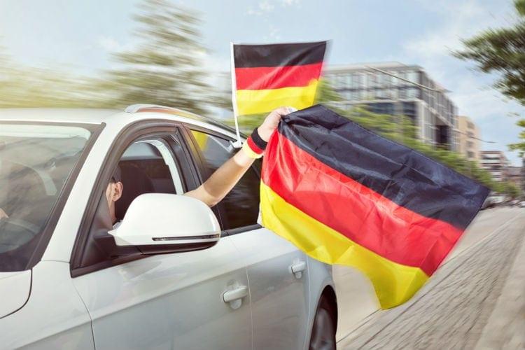 bila i tyskland
