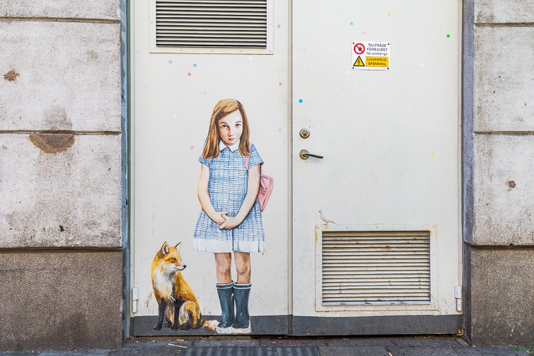 davidshall street art