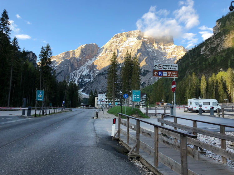 how to get to lago di braies