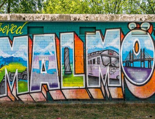 Malmö Street Art – Bilder och vägbeskrivning till Malmös bästa gatukonst