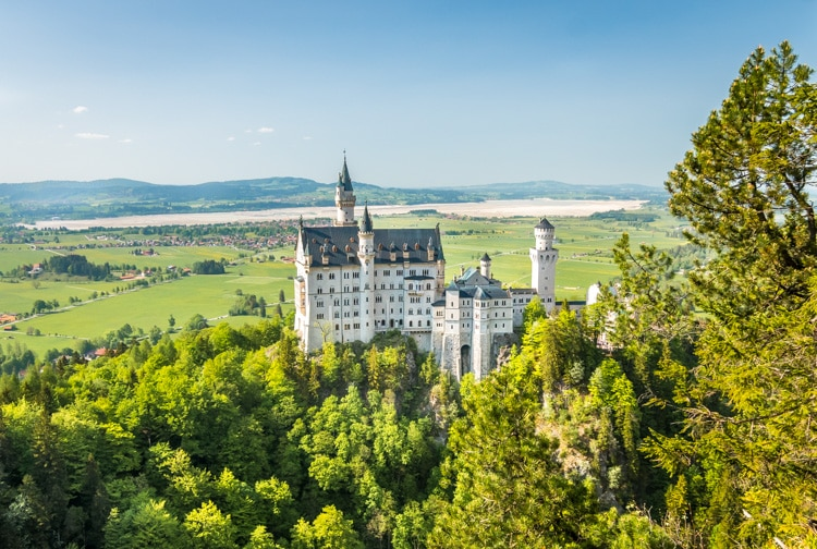 neuschwanstein castle viewpoint