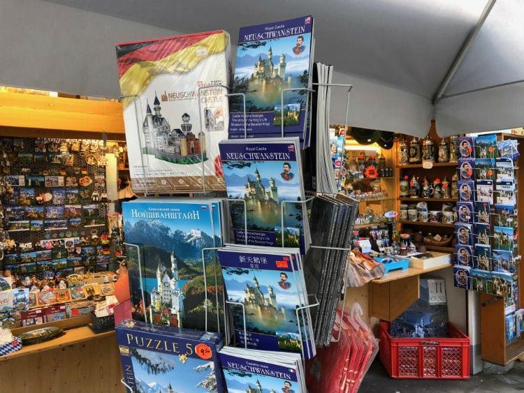 neuschwanstein souvenirs