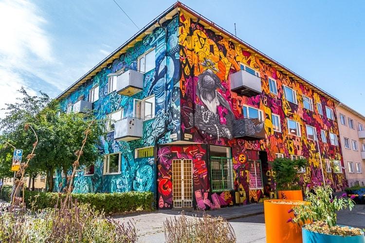 seved street art