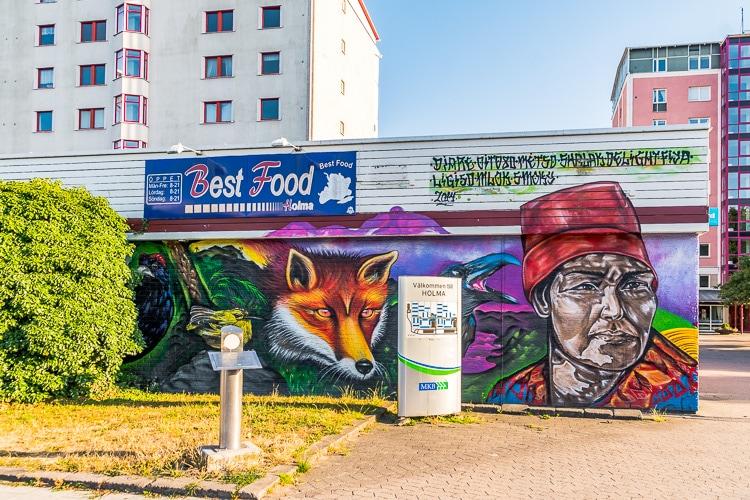 street art i holma