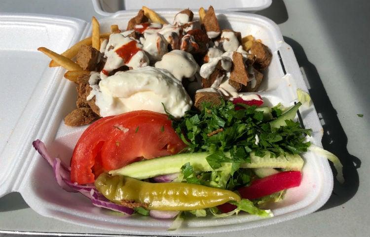vegansk kebab