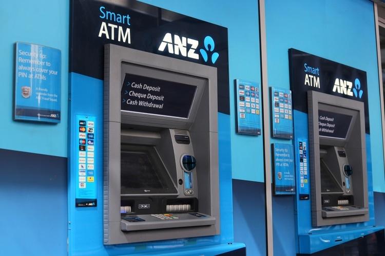 Bankomater Australien