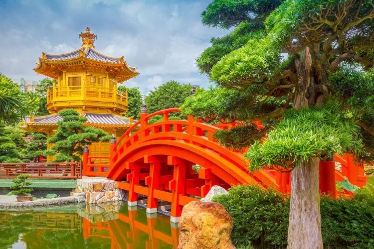 Chi Lin Nunnery och Nan Lian Garden