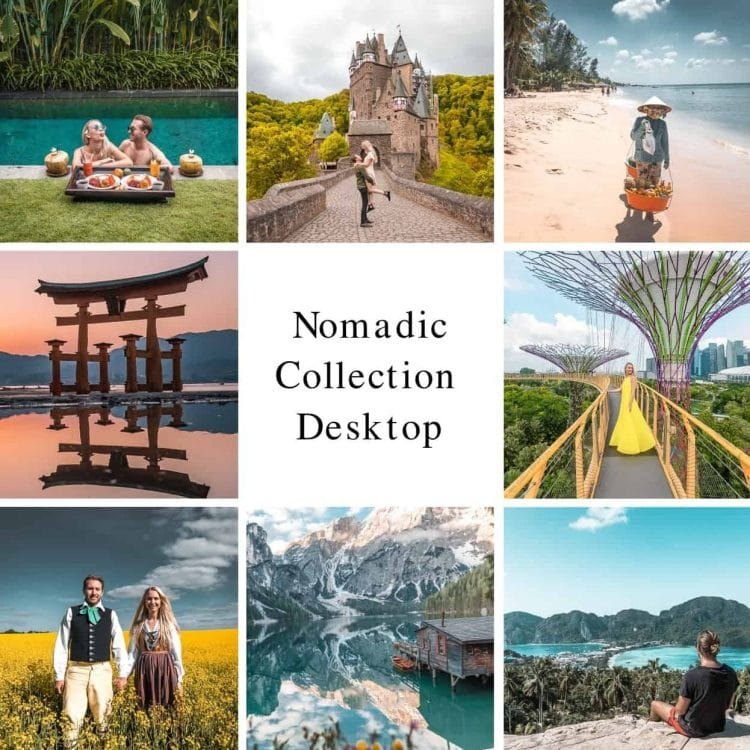 Nomadic Collection - Presets for Adobe Lightroom - Desktop