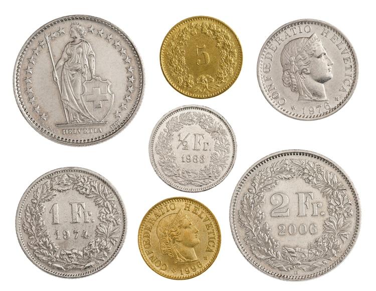 Schweiziska mynt