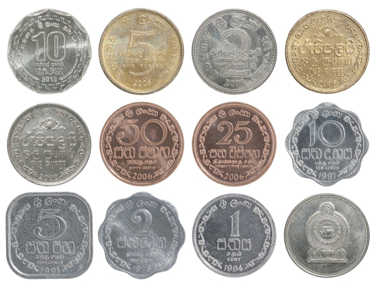 Sri Lanka mynt