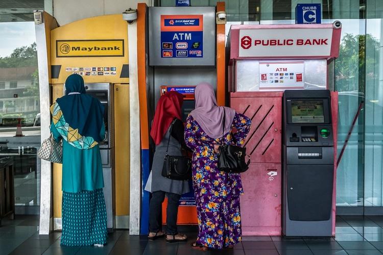 Cajeros automáticos en Malasia