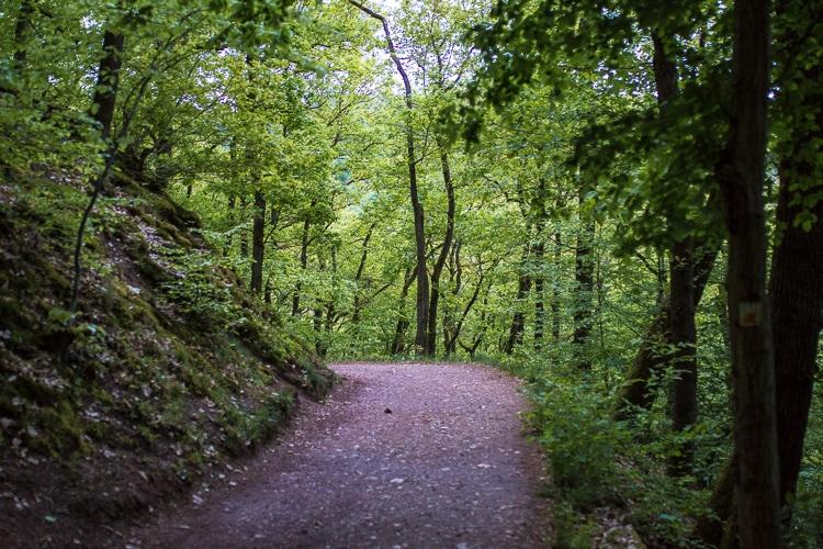 eltz castle footpath