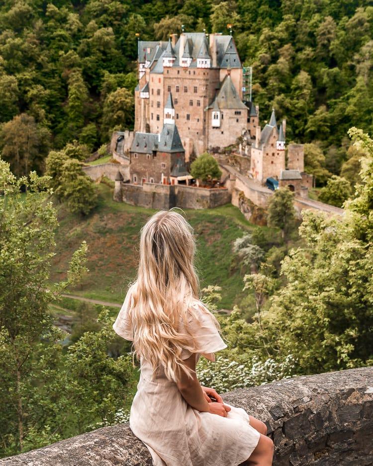 eltz castle view