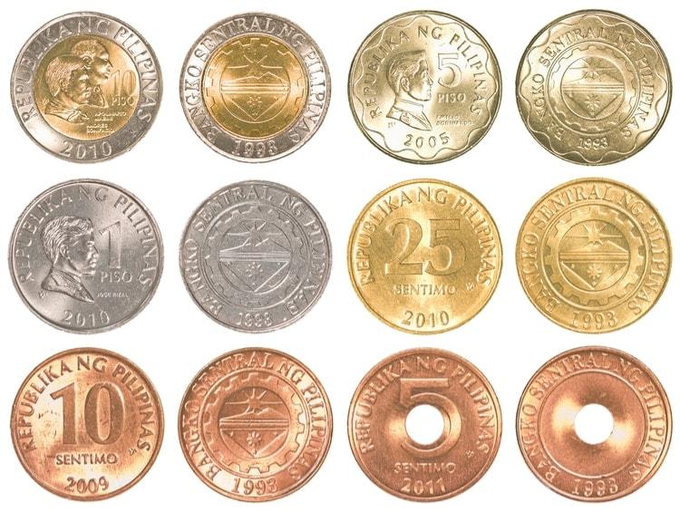 filippinska mynt