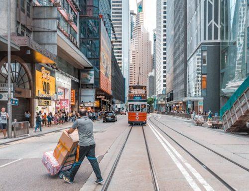 Bankomaten fungerade som vanligt i hongkong