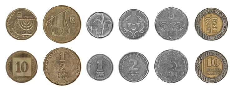 israel mynt