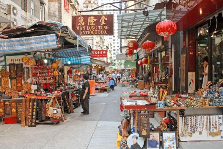 marknad hong kong