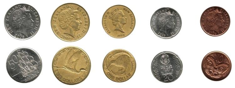 nya zeeland mynt