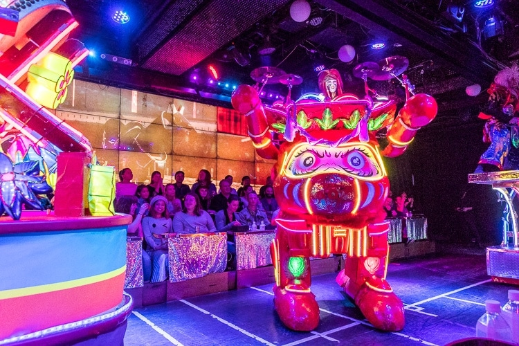 robot restaurant tickets