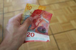 schweiz valuta