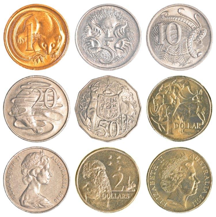 valuta australien mynt