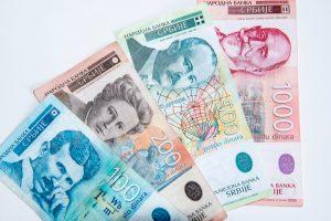 växla serbisk valuta