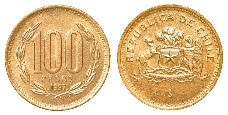 100 chilenska pesos