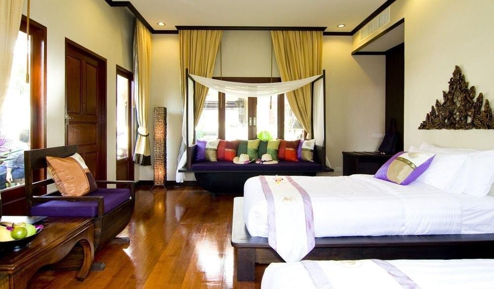 Kanok Buri Resort and Spa bedroom