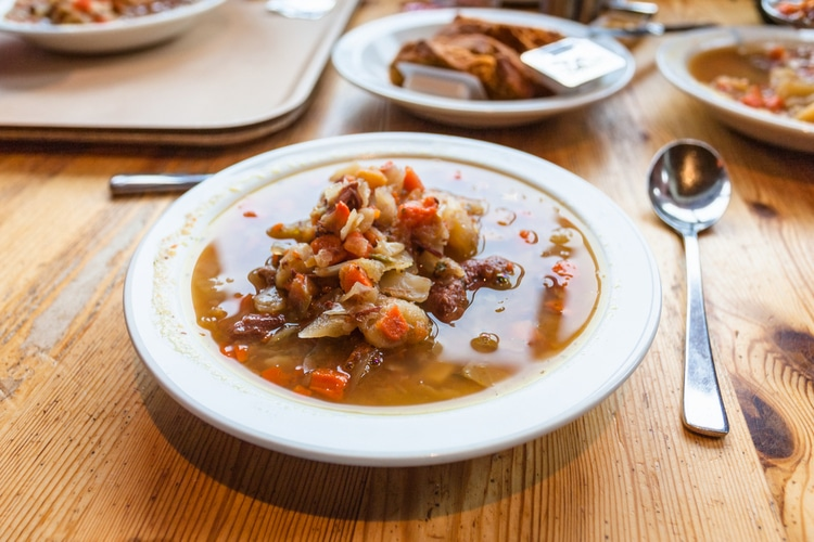 Kjotsupa - icelandic food