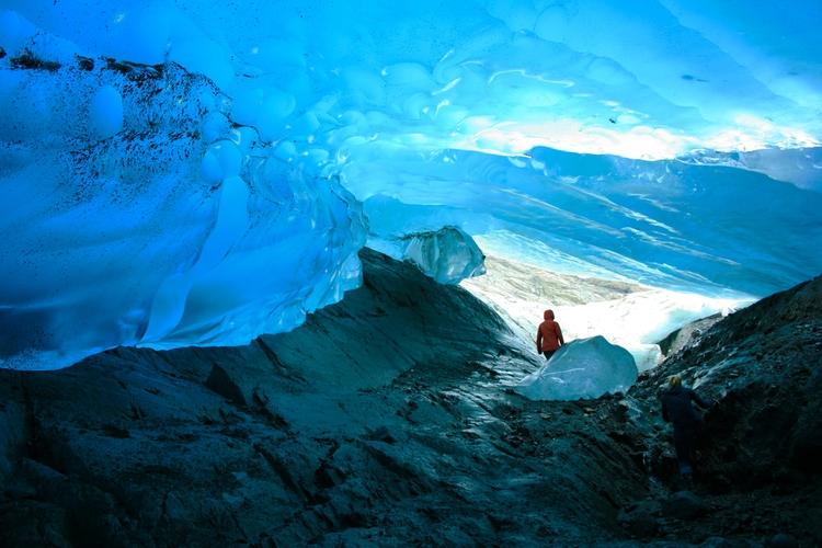 Mendenhall Glacier Caves