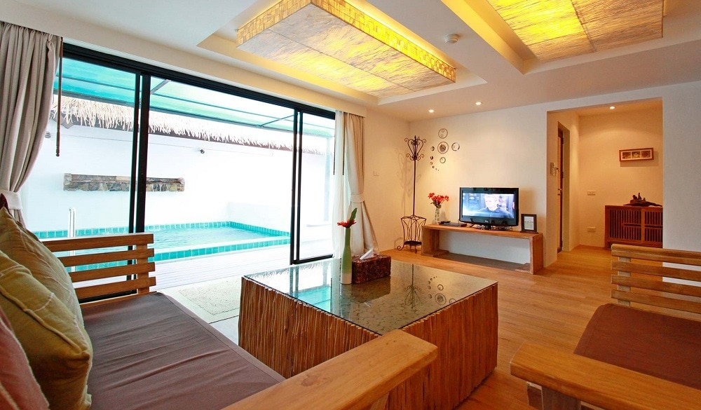 Mimosa Resort & Spa suite with pool