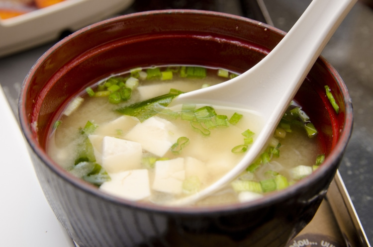 Miso - traditional japanese soup