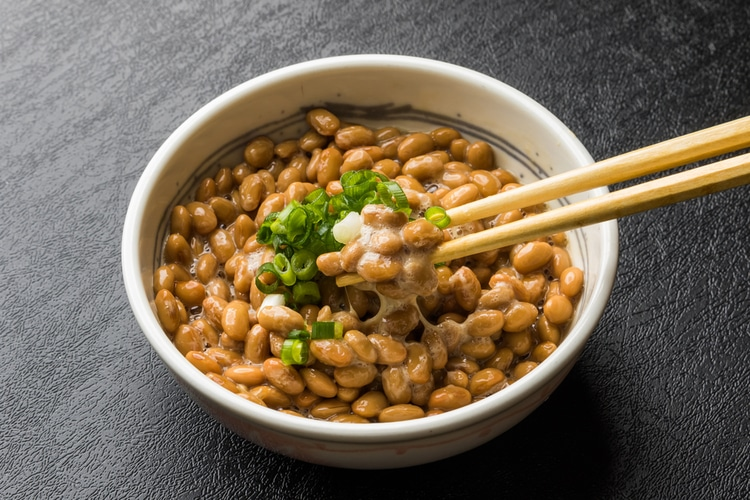 Natto - Japanese breakfast