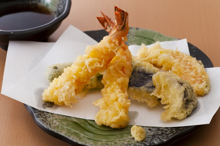 Tempura - fried japanese food
