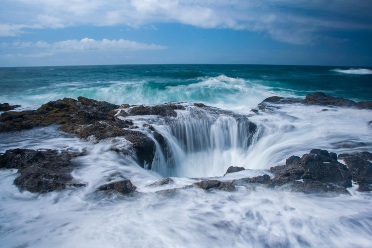 Thor's Well Oregon
