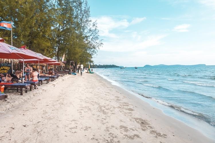 kambodja strand