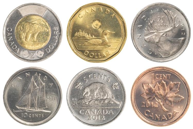 kanada mynt