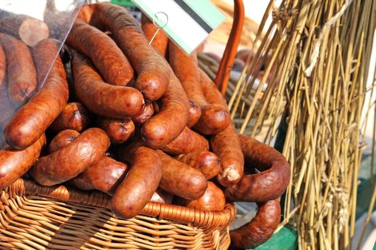 kielbasa - Polish sausage