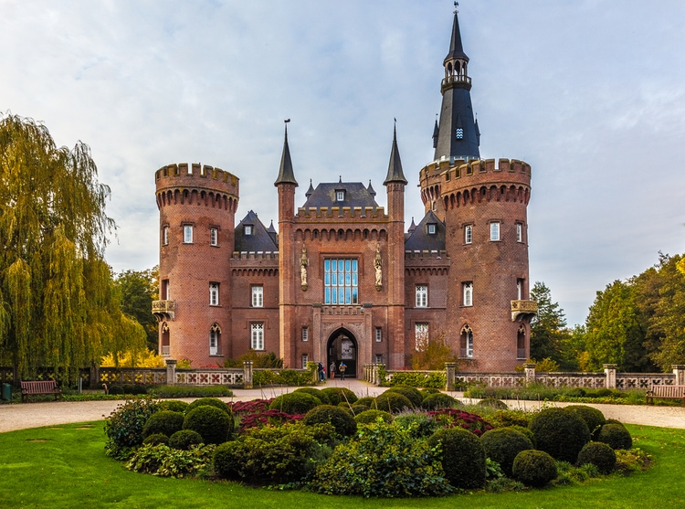 moyland - beautiful castles in germany