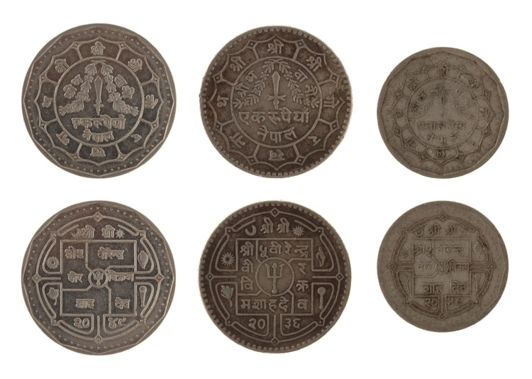 nepal mynt