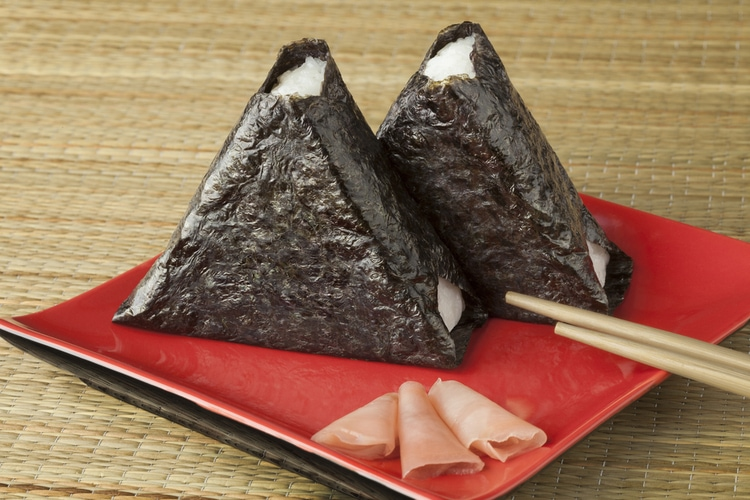onigiri - classic fast food from Japan