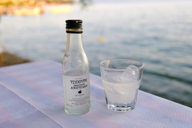 ouzo - Greek liquor